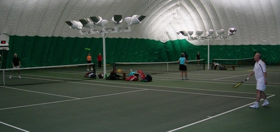 This is where we play every Saturday morning during the indoor season.